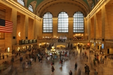 Rush hour at Grand Central