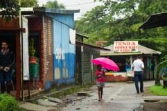 Rainy Tortuguero, Costa Rica.