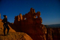 Moonlit Bryce Canyon National Park