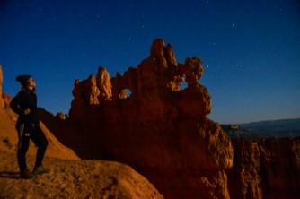 Moonlit Bryce Canyon National Park